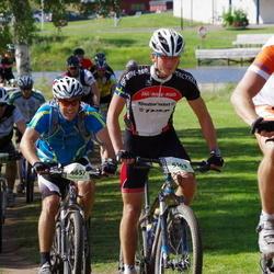 Cycling 90 km - Tobias Frisk (4657), Erik Marsch (5163)