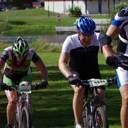 Cycling 90 km - Henrik Andersson (4434), Christian Franzén (4672)