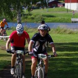 Cycling 90 km - Jonas Hilmerson (3896), Herman Wingren (4793)