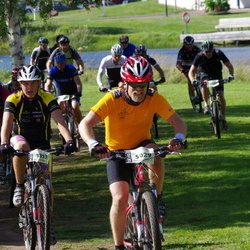Cycling 90 km - Tobias Eriksson (3353), Bjarne Ingelsson (5029)