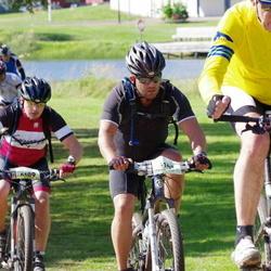 Cycling 90 km - Rolf Ek (4602), Daniel Högberg (5109), Patrik Wållgren (5141)