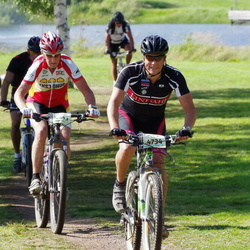 Cycling 90 km - Roy Lindström (4693), Hugo Norlén (4734)