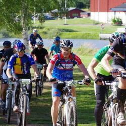 Cycling 90 km - Jan Södergren (4348), Anders Törling (5307)