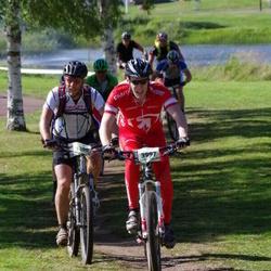 Cycling 90 km - Andreas Åberg (3997), Gunnar Skarland (5200)