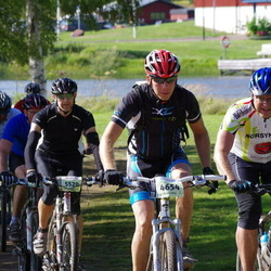Cycling 90 km - Erik Unaas (4519), Magnus Arvidsson (4654), Jens Loftheim (5520)