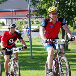 Cycling 90 km - Vidar Nilsen (4853), Henrik Lundin (5434), Magnus Vakava (5662)