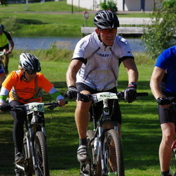 Cycling 90 km - Magnus Strömberg (4904), Annika Mossberg (5487), Fredrik Ruderfors (5525)