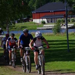 Cycling 90 km - Marie Björklund (4137), Åke Jansson (4782), Thomas Marklund (5077)