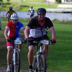Cycling 90 km - Fredrik Norell (4724), Jonas Svan (5572)