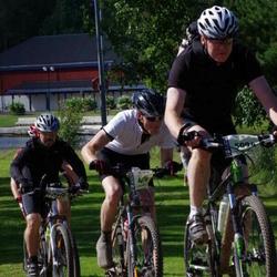 Cycling 90 km - Daniel Kitsero (4874), Börje Karelius (5094), Mikael Esplund (5119)