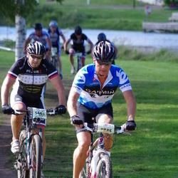 Cycling 90 km - Carl Lidén (3935), Lars Andersson (5480)