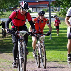 Cycling 90 km - Mikael Olsson (4244), Erik Ringvall (5785)