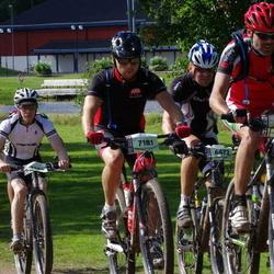 Cycling 90 km - Anders Carlsäter (6672), Björn Swederus (7181), Tomas Stöt (7200)