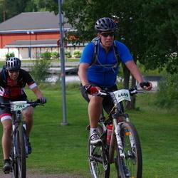 Cycling 90 km - Johan Pettersson (4609), Christoffer Bergquist (7144)