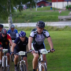 Cycling 90 km - Johan Fast (4810), Åge Johan Holmestad (5416)