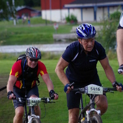 Cycling 90 km - Åge Johan Holmestad (5416), Linus Moberg (5803)