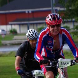 Cycling 90 km - Egil Vidar Steinum (4855), Marcus Andersson (5199)