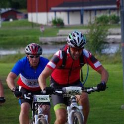 Cycling 90 km - Mattias Hede (5944), Anders Sandberg (6399)