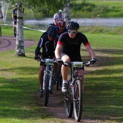 Cycling 90 km - David Andersson (5293), Lars Örarbäck (5302)