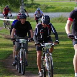 Cycling 90 km - Mattias Zettergren (5247), David Andersson (5293), Lars Örarbäck (5302)
