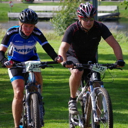 Cycling 90 km - Gro Örnhoft (5125), Fredrik Hagelöf (6757)