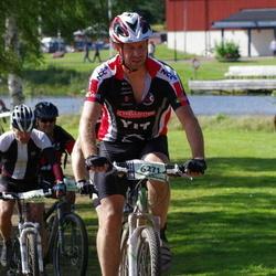 Cycling 90 km - Anders Grände (5563), Jonas Hällbom (6271)