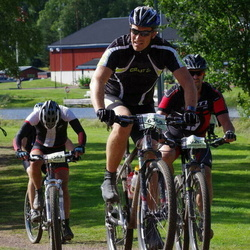 Cycling 90 km - Anders Grände (5563), Mikael Sjöberg (6360)