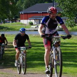 Cycling 90 km - Anders Karlsson (5532), David Stolpe (9678)