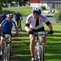 Cycling 90 km - Christer Öhgren (6780), Åke Nyström (8010)