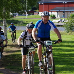 Cycling 90 km - Annar Jensen (6960), Åke Nyström (8010)