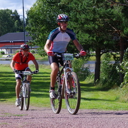 Cycling 90 km - Magnus Melin (6752), Anders Glantz (7154)