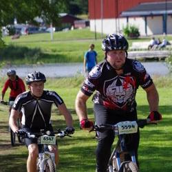 Cycling 90 km - Björn Friberg (5594), Mikael Gånors (6547)