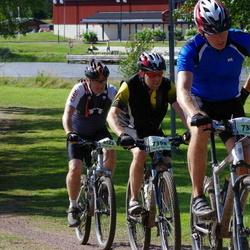 Cycling 90 km - Henrik Kongsholm (6122), Tomas Bohlin (7371), Jan Andersson (7398)