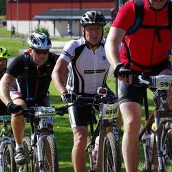 Cycling 90 km - Jan Nilsson (5909), Henrik Svensson (6685), Michael Runge (6923)