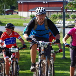 Cycling 90 km - Bodil Loken (3212), Anders Stenback (6608), Malin Blomstrand (6745)