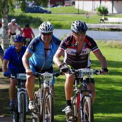 Cycling 90 km - Nils Eriksson (5763), Sven Hallin (6495), Kjell Retterholt (6586), Alexander Harlin (8102)