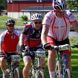 Cycling 90 km - Claes Ekstrand (5252), Stefan Nord (6321), Erik Trygg (6358)