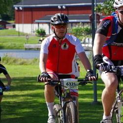 Cycling 90 km - Stefan Nord (6321), Erik Trygg (6358)