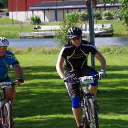 Cycling 90 km - Arne Larsson (6160), Andreas Sjönvall (6502)