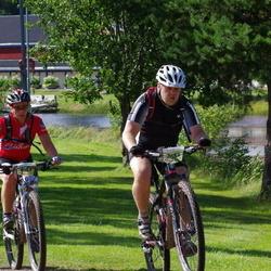 Cycling 90 km - Mona Lundqvist (6163), Jan-Erik Bergman (7484)