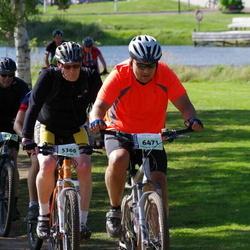Cycling 90 km - Lars Hedberg (5360), Janne Nieminen (6471)