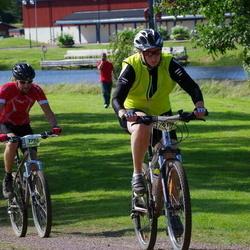 Cycling 90 km - Carina Thylen (6114), Henrik Algmark (7790)