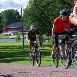 Cycling 90 km - Christina Larsson (6318), Per Olof Siggeson (7139)
