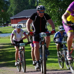 Cycling 90 km - Christer Wirth (6001), Camilla Larsered (7058)