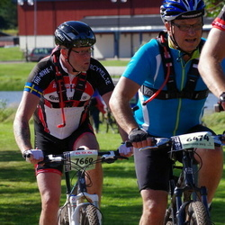 Cycling 90 km - Ulf Nilsson (6474), Anders Björklund (7660)