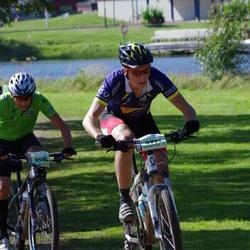 Cycling 90 km - Peter Näsström (9595), Daniel Ekman (9771)