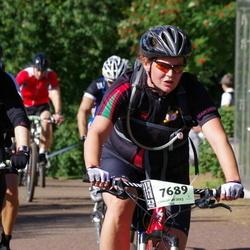 Cycling 90 km - Jenny Järvelä (7689), Anders Rydén (8893)