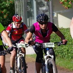 Cycling 90 km - Anna Ekegren (7801), Elisabeth Larsson (10403)