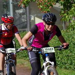 Cycling 90 km - Elisabeth Larsson (10403), Christer Dahlin (11432)