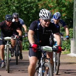 Cycling 90 km - Jonas Friberg (10611), Erik Mattson (11929)